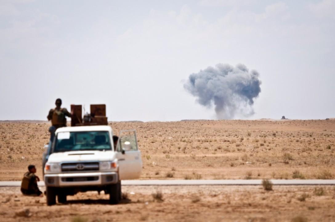 Internationalisation of Syria's chemical weapon stockpile?