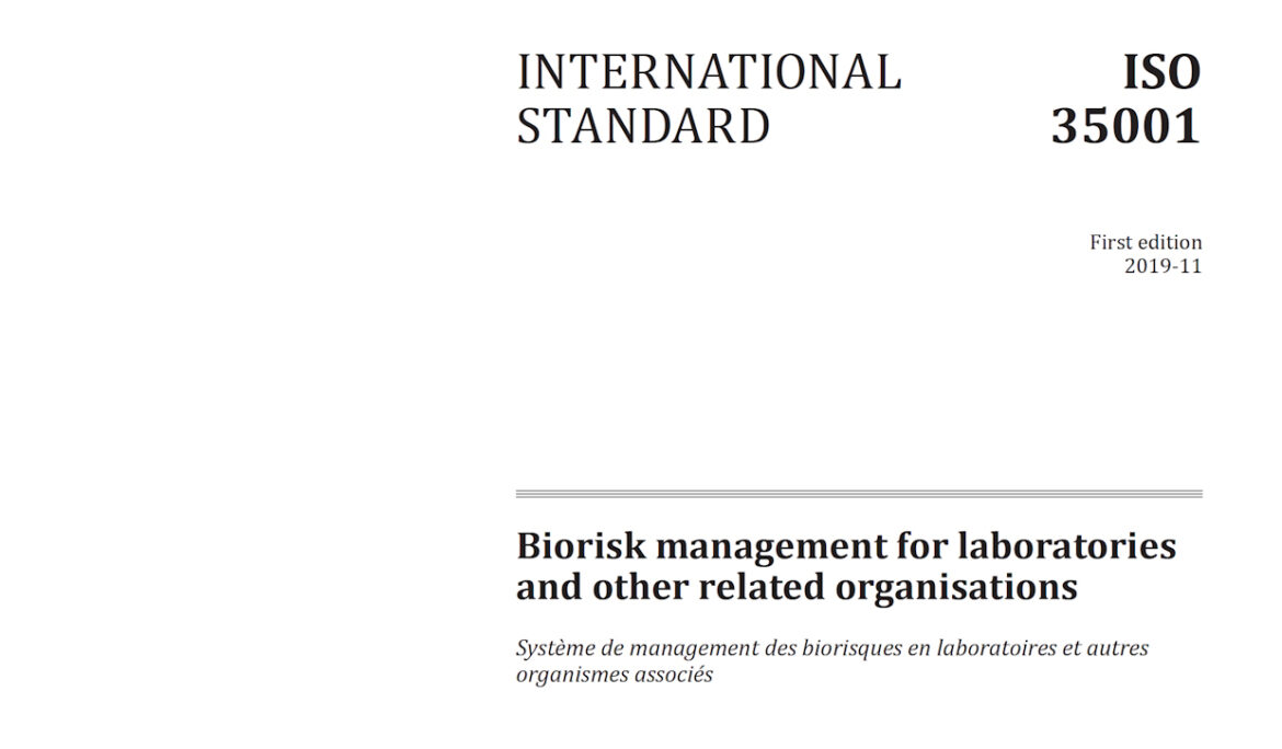 Increasing assurance under the BTWC through biorisk management standards