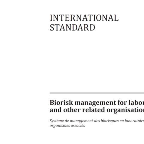 Increasing assurance under the BTWC through biorisk management standards